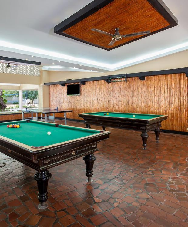 Salão de jogos GHL Relax Hotel Club El Puente Girardot