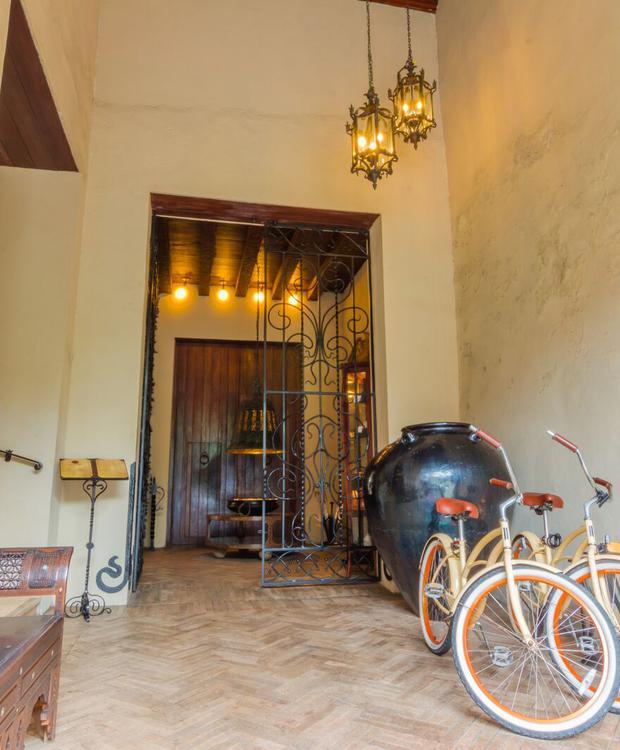 Bicicletas no Bastión Luxury Hotel Bastión Luxury Hotel Cartagena das Índias