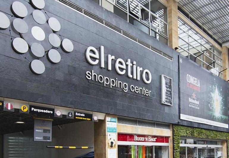 El retiro shopping center hotel ghl collection 93 bogota
