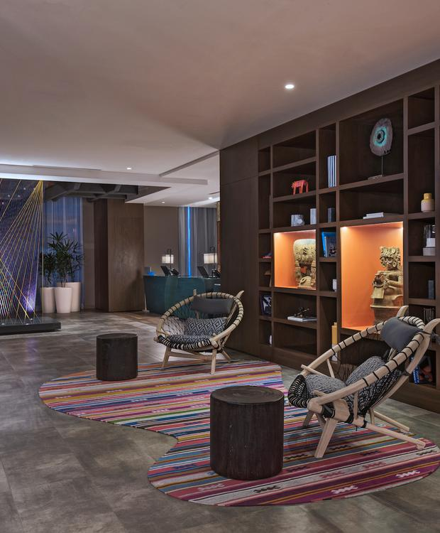 Lobby Hotel Hyatt Centric Guatemala City Cidade da Guatemala