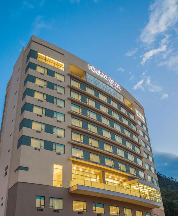 Fachada Hotel Four Points by Sheraton Cuenca Cuenca
