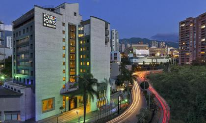 Façada hotel four points by sheraton medellín