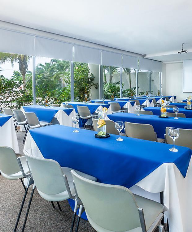 Sala de reuniões Sonesta Hotel Cartagena Cartagena das Índias