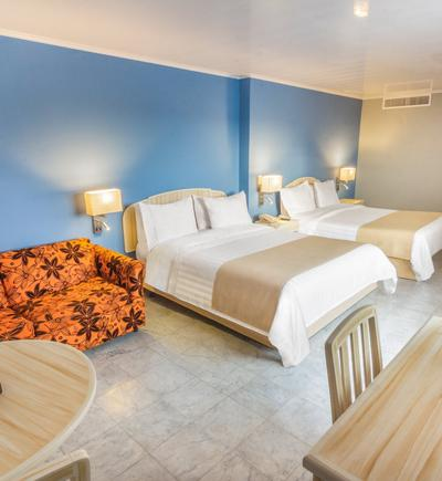 Quarto duplo ghl ghl relax hotel sunrise san andres