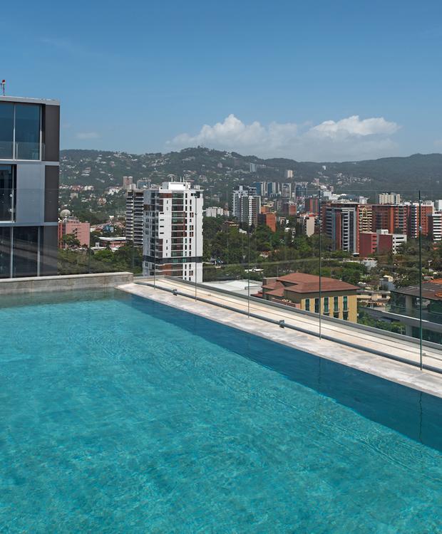 Piscina Hotel Hyatt Centric Guatemala City Cidade da Guatemala