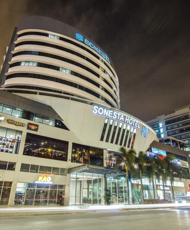 Fachada Sonesta Hotel Guayaquil Guaiaquil