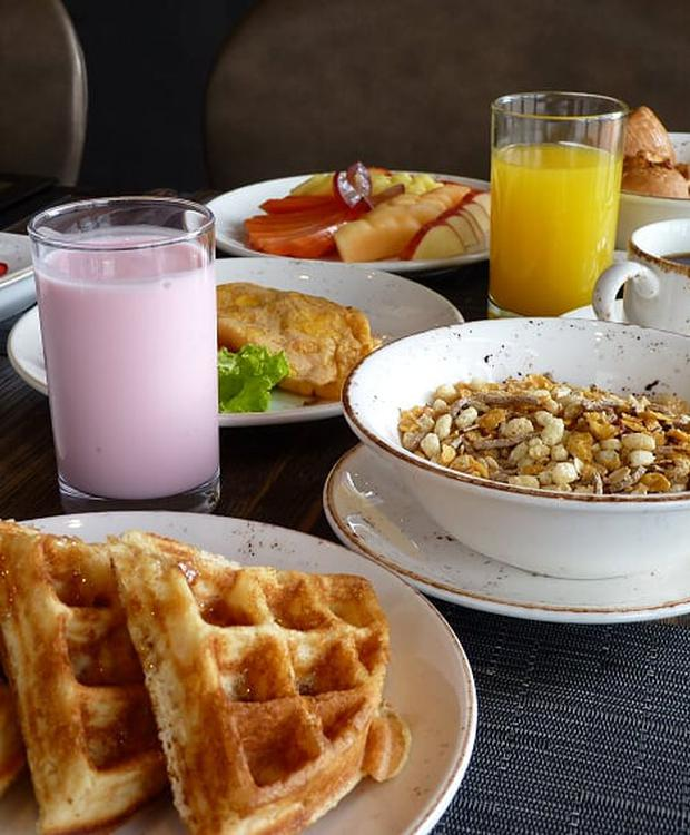 Café da manhã GHL Style Hotel Bogotá Occidente Bogota