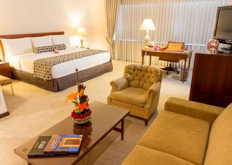 QUARTO MASTER KING Hotel GHL Tequendama Bogota