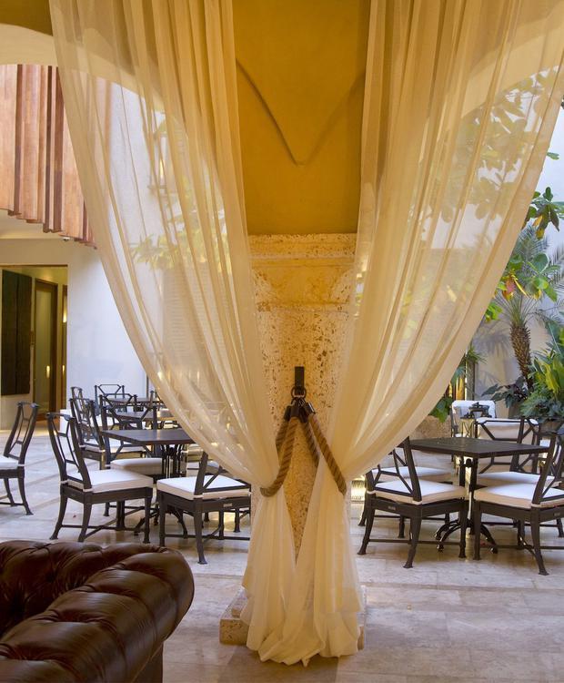 Lobby do Bastión Luxury Hotel Bastión Luxury Hotel Cartagena das Índias
