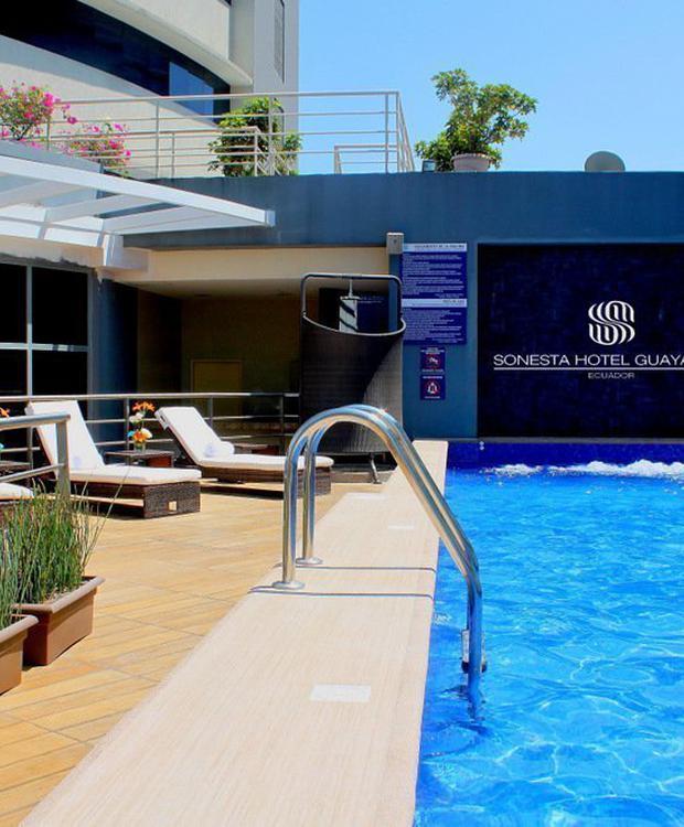 Piscina Sonesta Hotel Guayaquil Guaiaquil