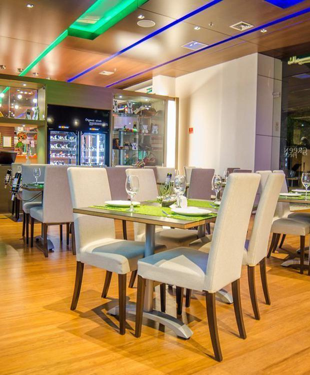 Restaurante Green Piece Biohotel Organic Suites Bogota