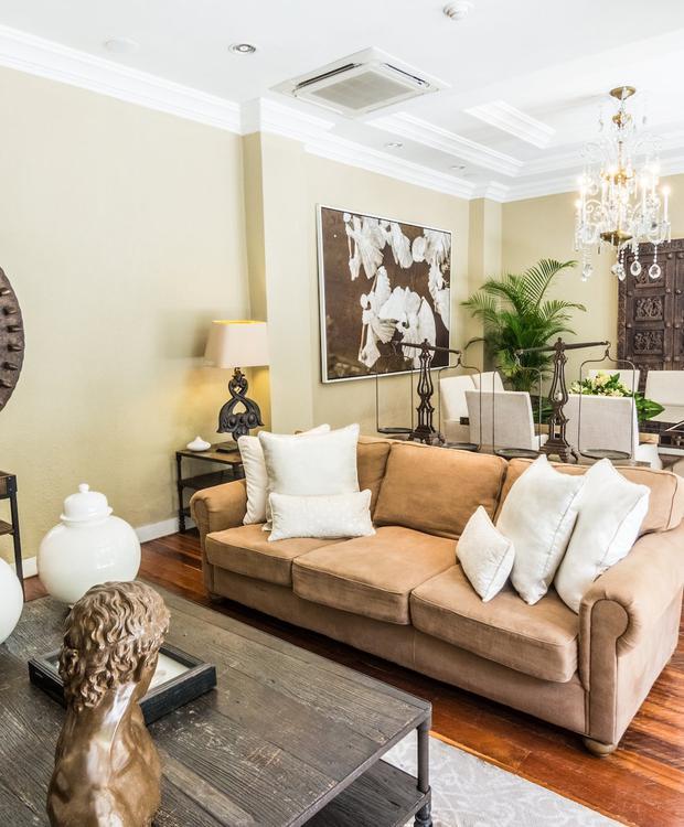 Ótima sala no hotel de luxo Bastión Bastión Luxury Hotel Cartagena das Índias