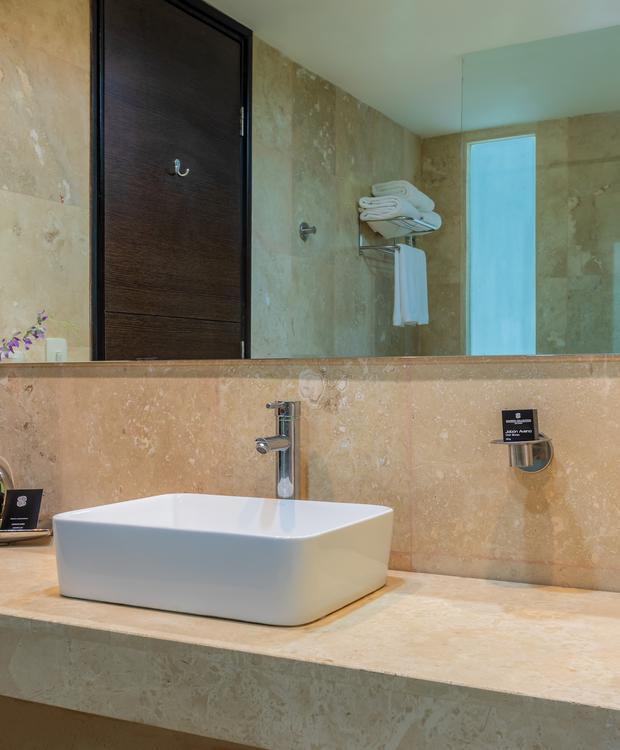 Banheiros Sonesta Hotel Barranquilla  Barranquilla
