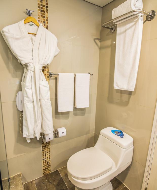 Casa de banho Suite GHL Hotel Hamilton