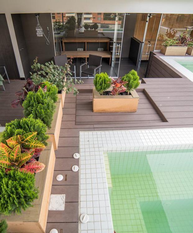 Zonas húmidas Biohotel Organic Suites Bogota