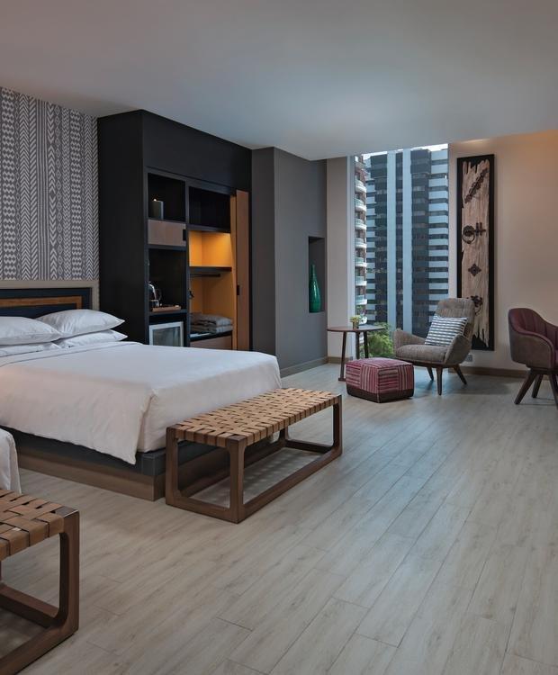 Quarto Duplo Adaptado Hotel Hyatt Centric Guatemala City Cidade da Guatemala