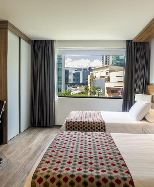 Quarto luxury twin GHL Hotel Portón Medellín Medellín