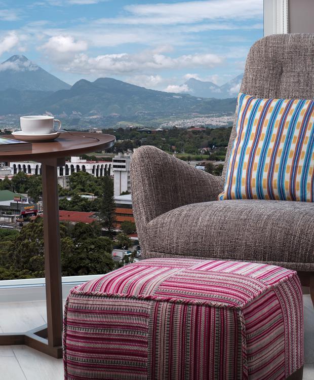 Vista da cidade Hotel Hyatt Centric Guatemala City Cidade da Guatemala