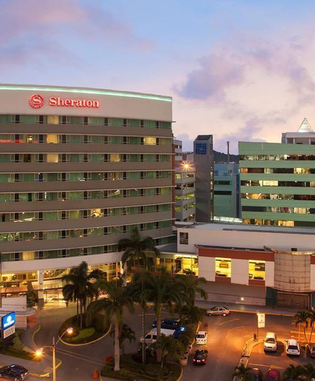 Façada Sheraton Guayaquil Hotel Guaiaquil