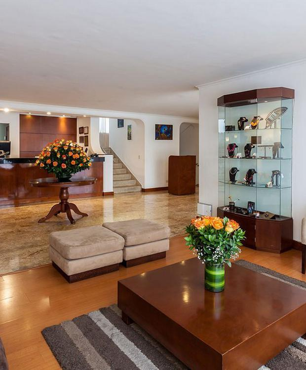 Lobby GHL Style Hotel Belvedere Bogota