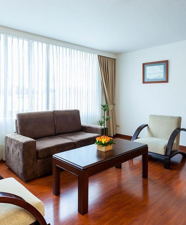 Habitación Junior Suite GHL Style Hotel Belvedere Bogota