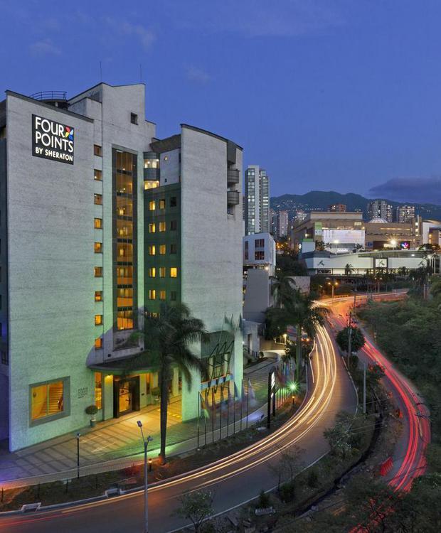 Façada Hotel Four Points by Sheraton Medellín Medellín