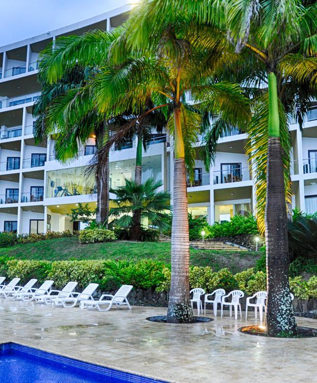Façada GHL Relax Hotel Makana Resort Tonsupa