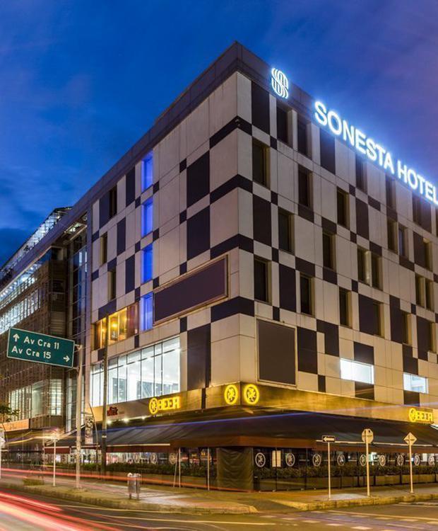 Fachada Sonesta Hotel Bogotá Bogota