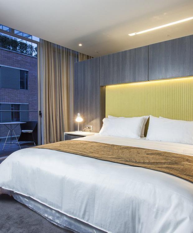 Quarto Deluxe Bioxury Hotel Bogota