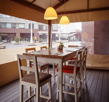 Terrace by cook´s hotel ghl collection 93 bogota