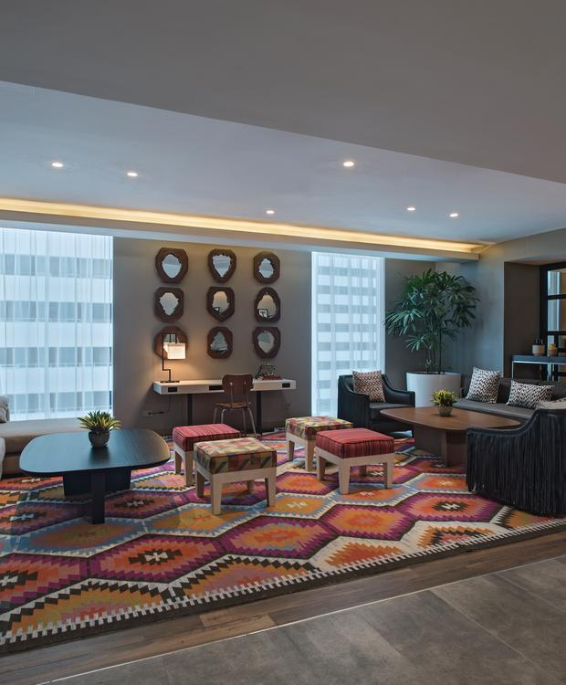 Salas de estar Hotel Hyatt Centric Guatemala City Cidade da Guatemala