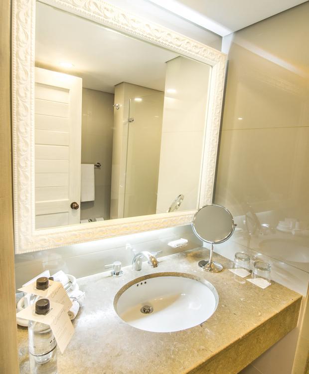 Banheiro Standard GHL Hotel Hamilton