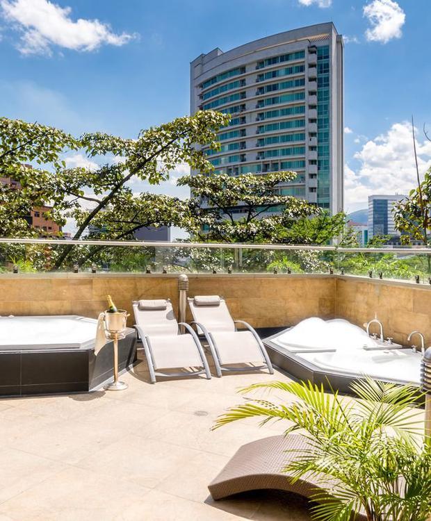 Zona úmida GHL Hotel Portón Medellín Medellín