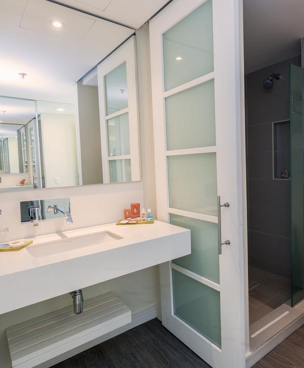 Casa de banho Hotel GHL Relax Corais de Indias Cartagena das Índias