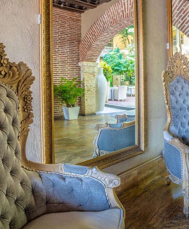 Lobby Hotel GHL Collection Armería Real Cartagena das Índias