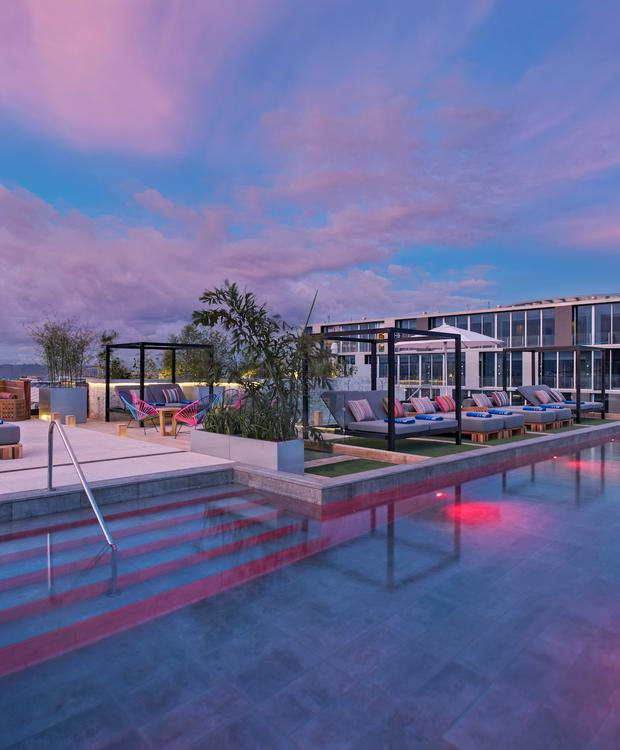 Terraço Hotel Hyatt Centric Guatemala City Cidade da Guatemala
