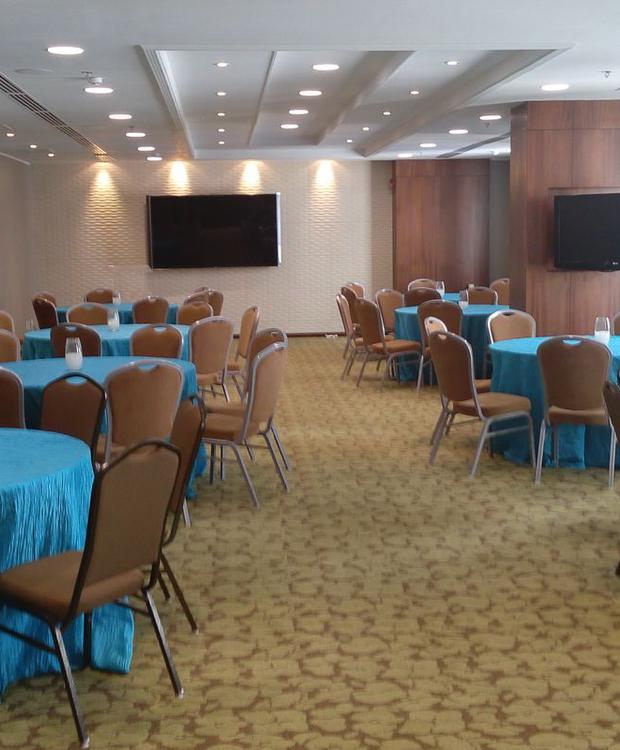 Sala de estar Hotel Hilton Garden Inn Panamá Cidade do Panamá