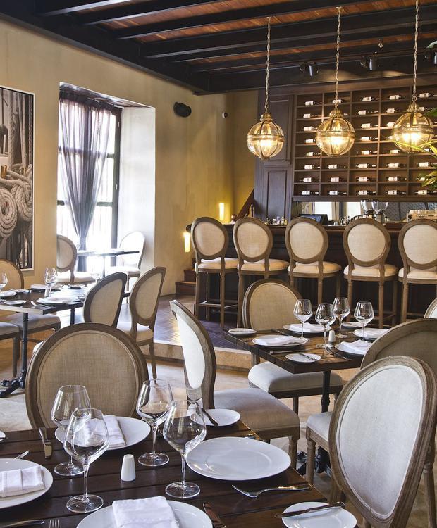 Restaurante El Gobernador no Bastión Luxury Hotel Bastión Luxury Hotel Cartagena das Índias