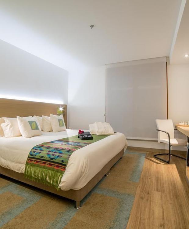 Noite romântica Biohotel Organic Suites Bogota