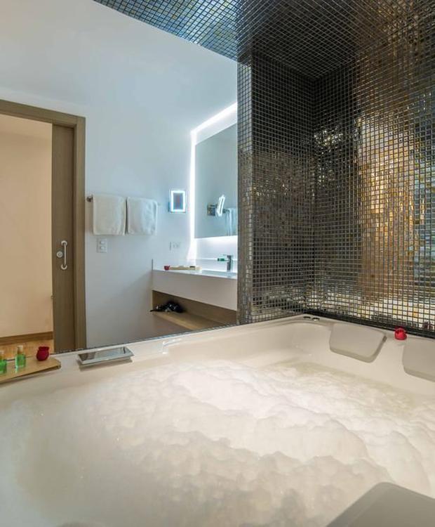 Junior suite com jacuzzi Biohotel Organic Suites Bogota
