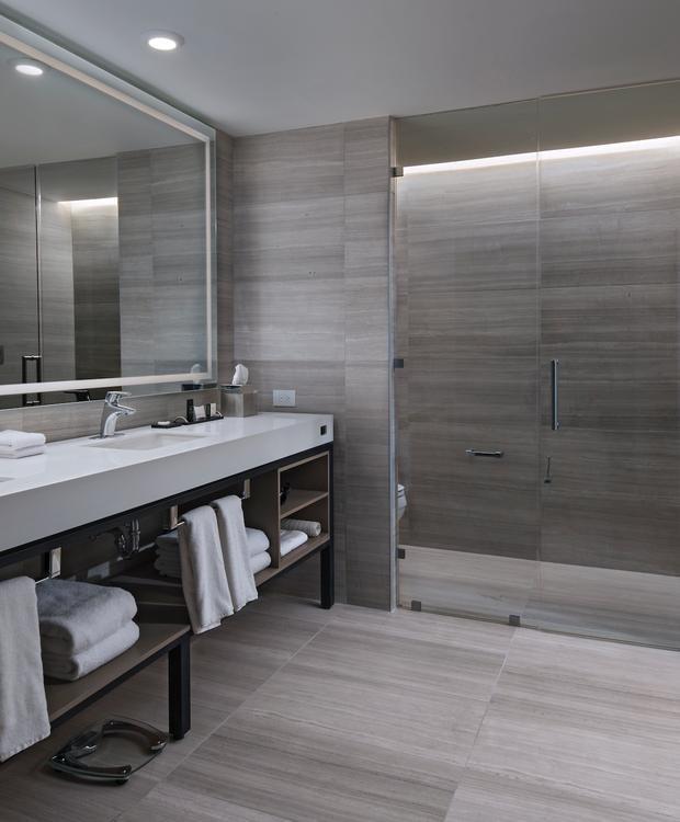 Quarto Executive Deluxe Banheiro Hotel Hyatt Centric Guatemala City Cidade da Guatemala