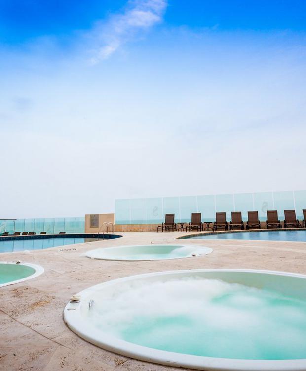 Jacuzzi Hotel GHL Relax Corais de Indias Cartagena das Índias