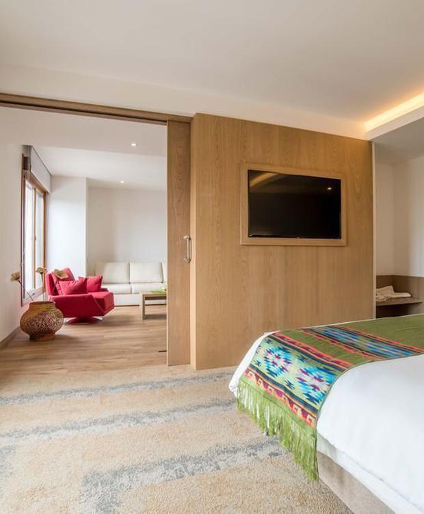 Master suite Biohotel Organic Suites Bogota