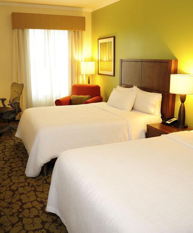 Quarto duplo Hotel Hilton Garden Inn Panamá Cidade do Panamá