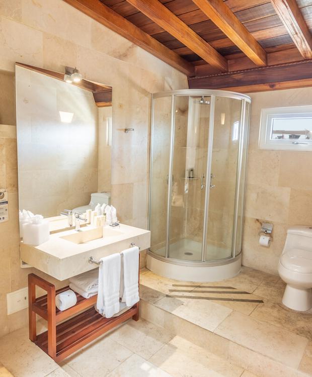 Banheiro Hotel GHL Collection Armería Real Cartagena das Índias