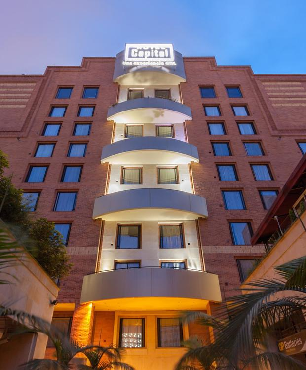 Fachada GHL Hotel Capital GHL Hotel Capital Bogota