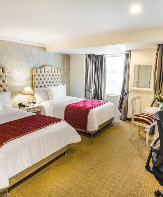 Quarto Twin GHL Hotel Hamilton Hotel GHL Collection Hamilton Bogota