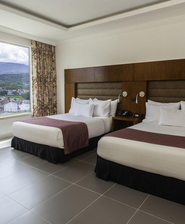 Quarto Twin GHL Hotel Grand Villavicencio Villavicêncio