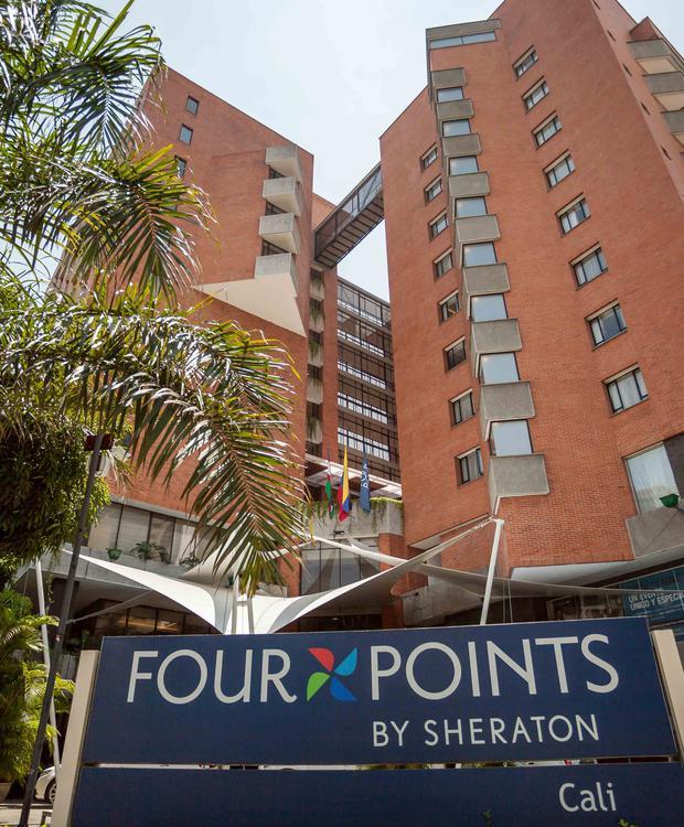 Façada Hotel Four Points by Sheraton Cali Cali
