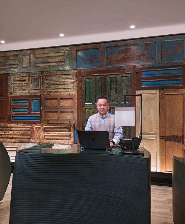 Recepção Hotel Hyatt Centric Guatemala City Cidade da Guatemala